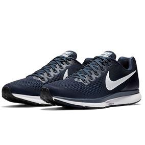 Zapatillas Nike Air Zoom Pegasus 34 Hombre Azul. Originales