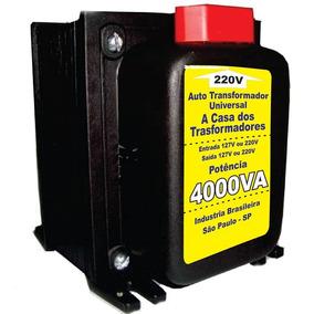 Autotransformador Bivolt 4000va 127v/220v 220v/127v