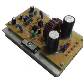 Kit 2 Placas Montada Ampli Classe D 1k4w Rms 2ohms + Fonte