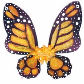 Alas Para Disfraz De Mariposa Monarca Niña O Mujer Cosplay