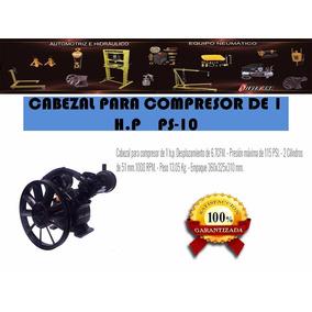 Cabezal P/ Compresor De 1 Hp. Ps-10 Silverline