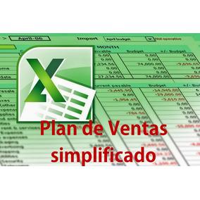 Plan De Ventas Simplificado - Hojas De Cálculo Excel