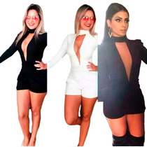 Macaquinho Feminino Modelo Anita