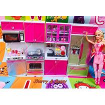 Kit Cozinha Infantil Com Luz E Som Completa Com Acessórios