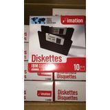 Diskettes Imation 3.5 2hd 1.44 Mb Caja Con 10 Piezas