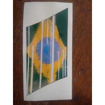 Adesivo Do Fiat Vivace Rua Bandeira Brasil Estilizada O Par