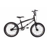 Bicicleta Aro 20 Cross Energy Com Aro Aero Preto - Mormaii