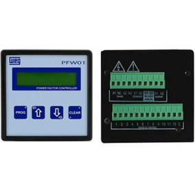 Controlador De Banco De Capacitor Weg Pfw 01