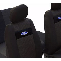 Jogo Capas Banco Ford Ka Fiesta Ecosport Com Logo