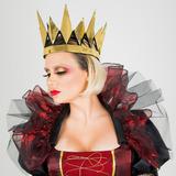 Coroa Rainha Dourada - Acessório Ara Fantasia