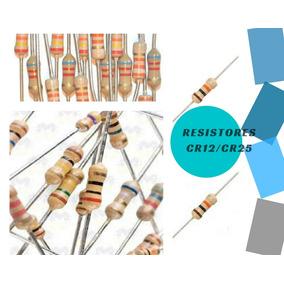 Kit 1000 *resistores 1/4w Escolha O Modelo !