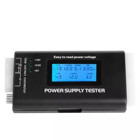 Power Supply Tester Testador Digital Fonte Pc Lcd Atx Btx