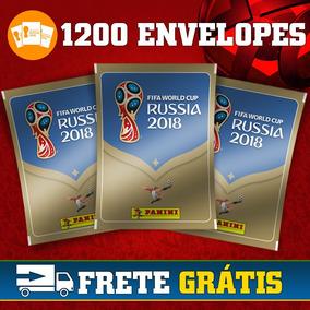 Caixa Fechada Figurinha Da Copa Do Mundo 2018 1200 Envelopes