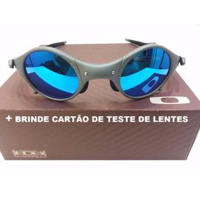 Óculos Mars Medusa Fosca Lente Azul Bebe + Brinde