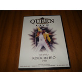 Dvd Queen / Rock In Rio 1985 (nuevo Y Sellado) Original