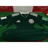 Jersey Playera Mexico Selección Mexicana 2018 Climachill