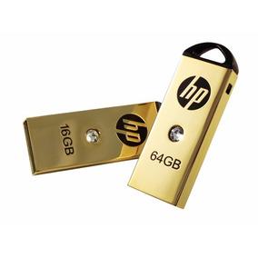 Memoria Usb 64 Gb Hp V223w Oro Usb Bonita