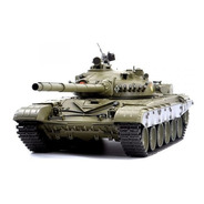 Tanque Rc Henglong T-72 1/16 Humo Y Airsoft 6mm Rtr Ver 6.0