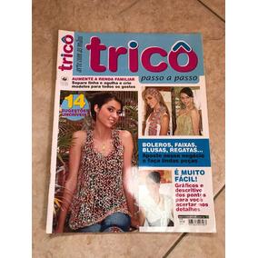 Revista Arte Com As Mãos Tricô Passo A Passo Bolero Blusas
