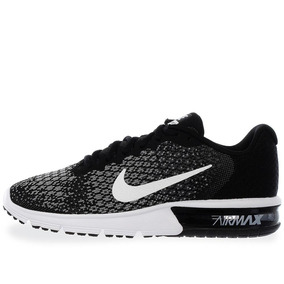 Tenis Nike Air Max Sequent 2 - 852461005 - Negro - Hombre