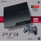 Playstation 3 Slim De 320gb *nuevo* +1 Juego