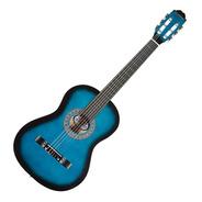 Violão Barato Iniciante Estudante Nylon Blue Azul Waldman Nf