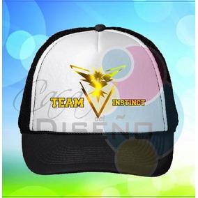 Pokemon Go Gorra Team Valor, Instinto, Sabiduría O Ash Dmm