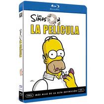 Blu Ray Los Simpson La Pelicula The Movie Tampico Madero