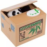 Alcancia Roba Monedas Con Sonido En Forma De Panda H8041