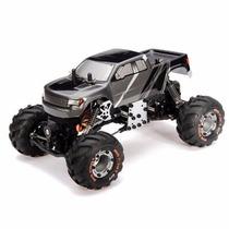 Rock Crawler Camioneta Monster Rc 4x4 1/24 Chasis Metalico