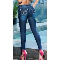 Sexy Jeans Levanta Pompis. Altura Cadera. Ajuste Skinny.