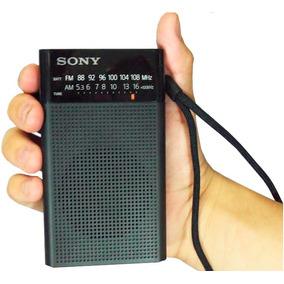 Radio A Pilha Sony Icf P-26 Am Fm