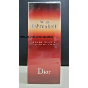5536732a68a Dior Fahrenheit Aqua Splash Mas 125ml - Perfumes Masculinos no ...