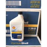 Aceite 20w50 Mineral Marca Shell