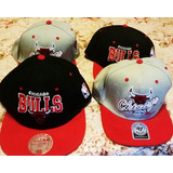 Gorras Chicago Bulls -mitchell & Ness- Importadas - Snapback