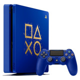 Consola Playstation 4 Slim 1tb Azul Days Of Play Ps4