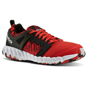 Tenis Reebok Twistform 2.0 Rojo Negro Training Fitness Gym