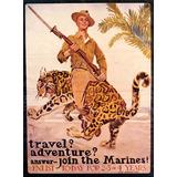 Jovem Soldado Arma Exército Tigre 1 2 Guerra Poster Repro