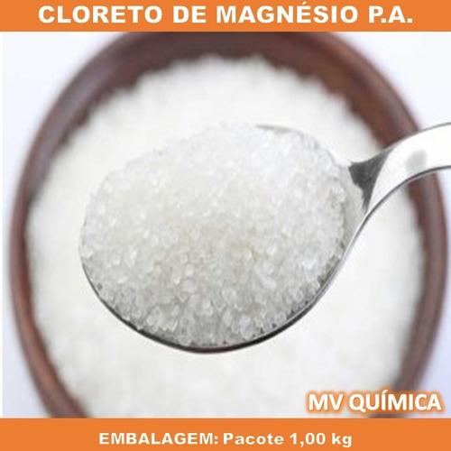 Cloreto De Magnésio Pa - Pacote De 1kg