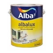Esmalte Sintético Brillante Negro X 1 Litro Albalux Pintura