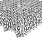 Piso Flexivel (pvc) Cinza 30x30cm (caixa Com 9 Un)