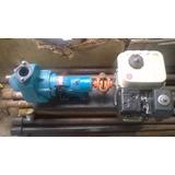 Bomba De Lama Com Motor Gasolina Branco Para Perfuração Poço