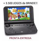 Gpd Xd - 32gb Tablet Gamer (ps1 N64 Ds Psp) +3.500 Jogos