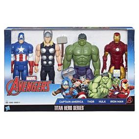 Boneco Heroes Marvel Avengers De 30 Cm.