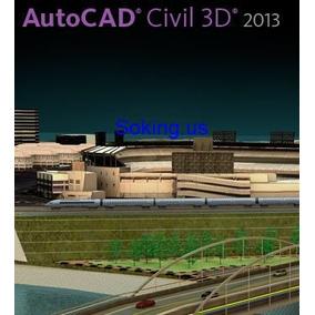 Autcad Civil 3d 2013 - 32& 64 Bits Pt/br + Curso Receba Hoje