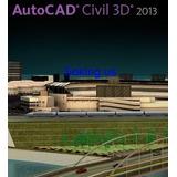 Autcad Civil 3d 2013 - 32 & 64 Bits + Curso Receba Hoje