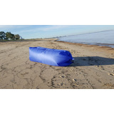 Sillon Inflable Sofa Lazy Bag Colchon De Aire Playa Negro