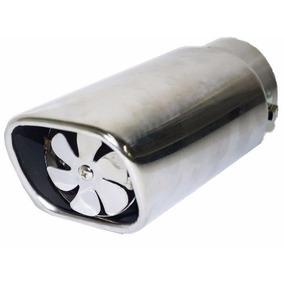 Ponteira Esportiva Escapamento C/ Helice Turbo - Universal