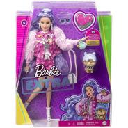 Barbie Extra 2021 Cabelo Lilás 6 Lançamento Articulada Bear