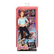 Boneca Barbie Feita Para Mexer Top Azul Ruiva Melhor Preço